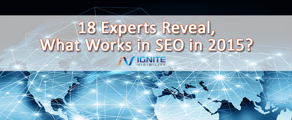 18 Experts Reveal, What Works in SEO in 2015?