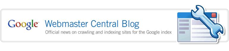 Google Webmaster Blog - SEO News