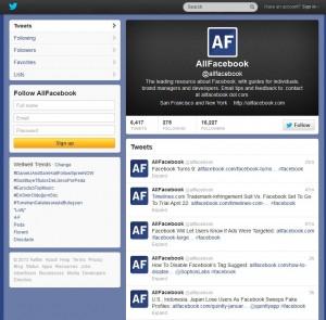 AllFacebook Twitter - Twitter SEO News