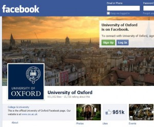 Oxford University Facebook