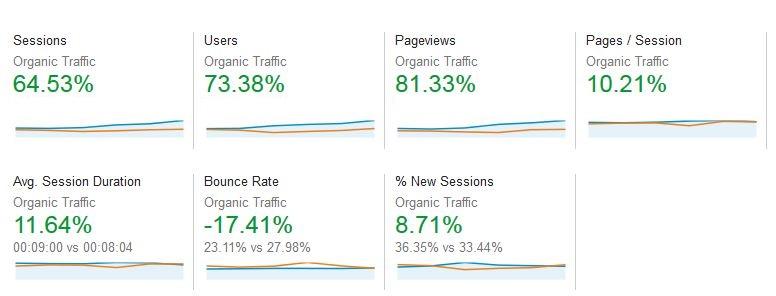 Client Case Study - Analytics 6 months