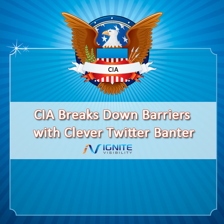 CIA Breaks Down Barriers with Clever Twitter Banter | Kelsey Prince