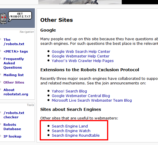 Example Links for SEO