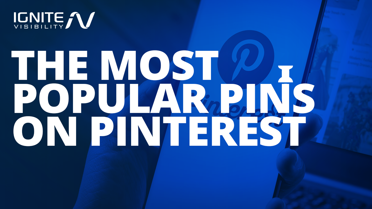The most popular pins on Pinterest
