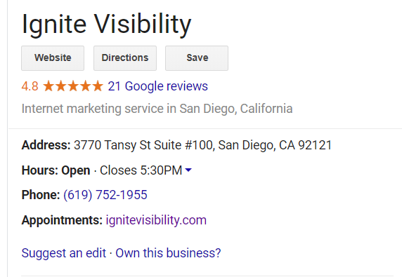 A local SEO company should have a strategy for generating positive reviews for your business.