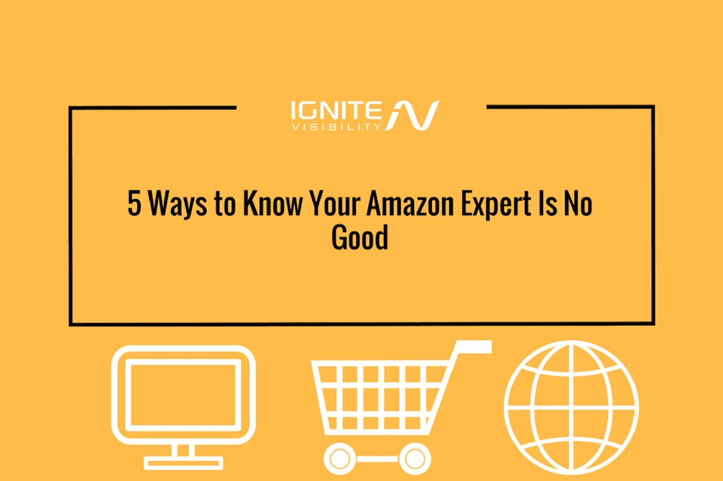 5 Ways to Know Your Amazon Expert Is No Good