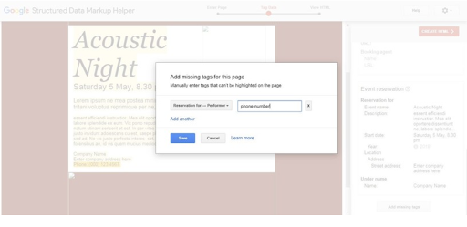 Structured data markup in gmail
