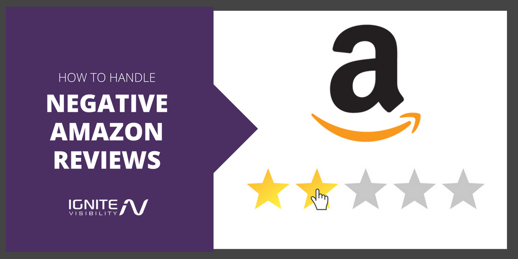 How to Handle Negative Reviews on Amazon