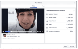How to Live Stream on Facebook - Measure Analytics