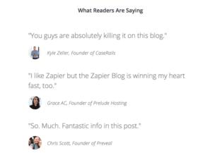 Customer Testimonials: Add Them to Your Blog