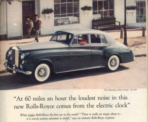 How to Write Ad Copy: The Rolls Royce Example