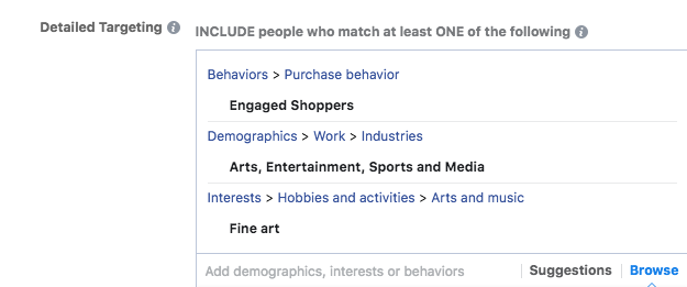 Cross-channel marketing: use detailed targeting in Facebook to better target on Google