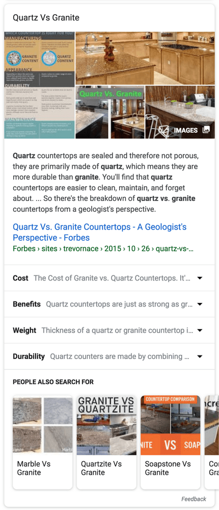 Digital Marketing in 2019: Expanded featured snippets