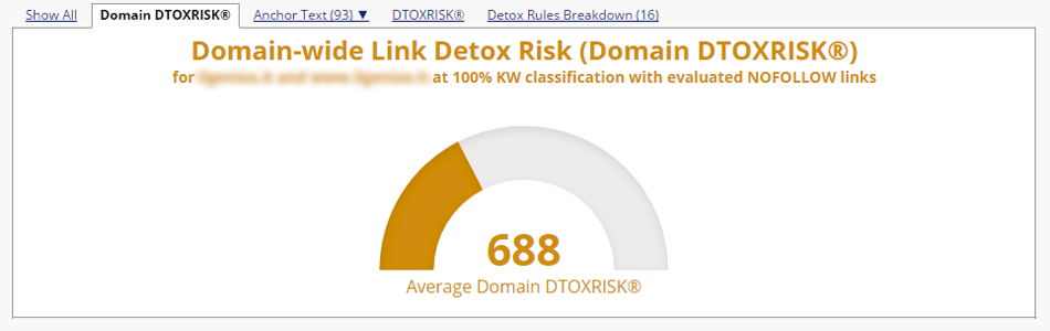 Link-Detox tool can help you find bad links to disavow