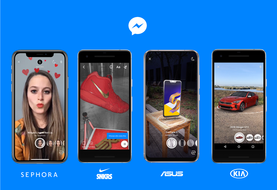 Facebook Messenger AR
