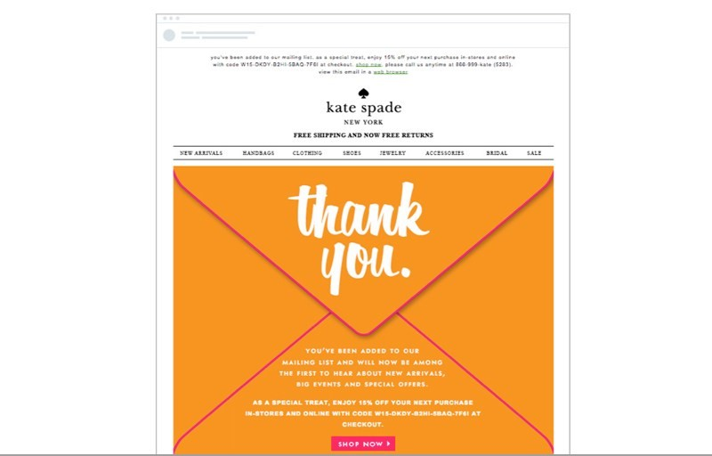Use marketing automation to send thank you and follow-up emails