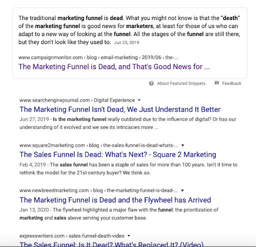 Is the marketing funnel dead?