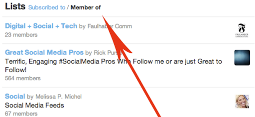 How to view other Twitter users' Twitter Lists
