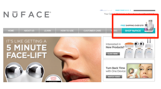 Nuface free shipping