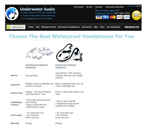 Underwater Audio Example