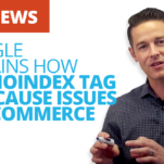 How Google's NoIndex Tag Cause Issues
