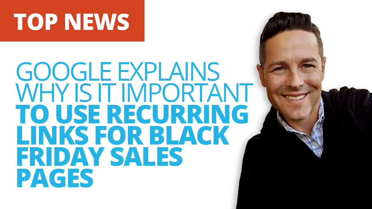 Why Should You Use Recurring Links For Black Friday Sales Pages