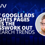 new google ads insights pages
