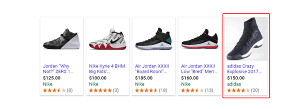 Google Shopping Feed: Men's Shoes Product Image