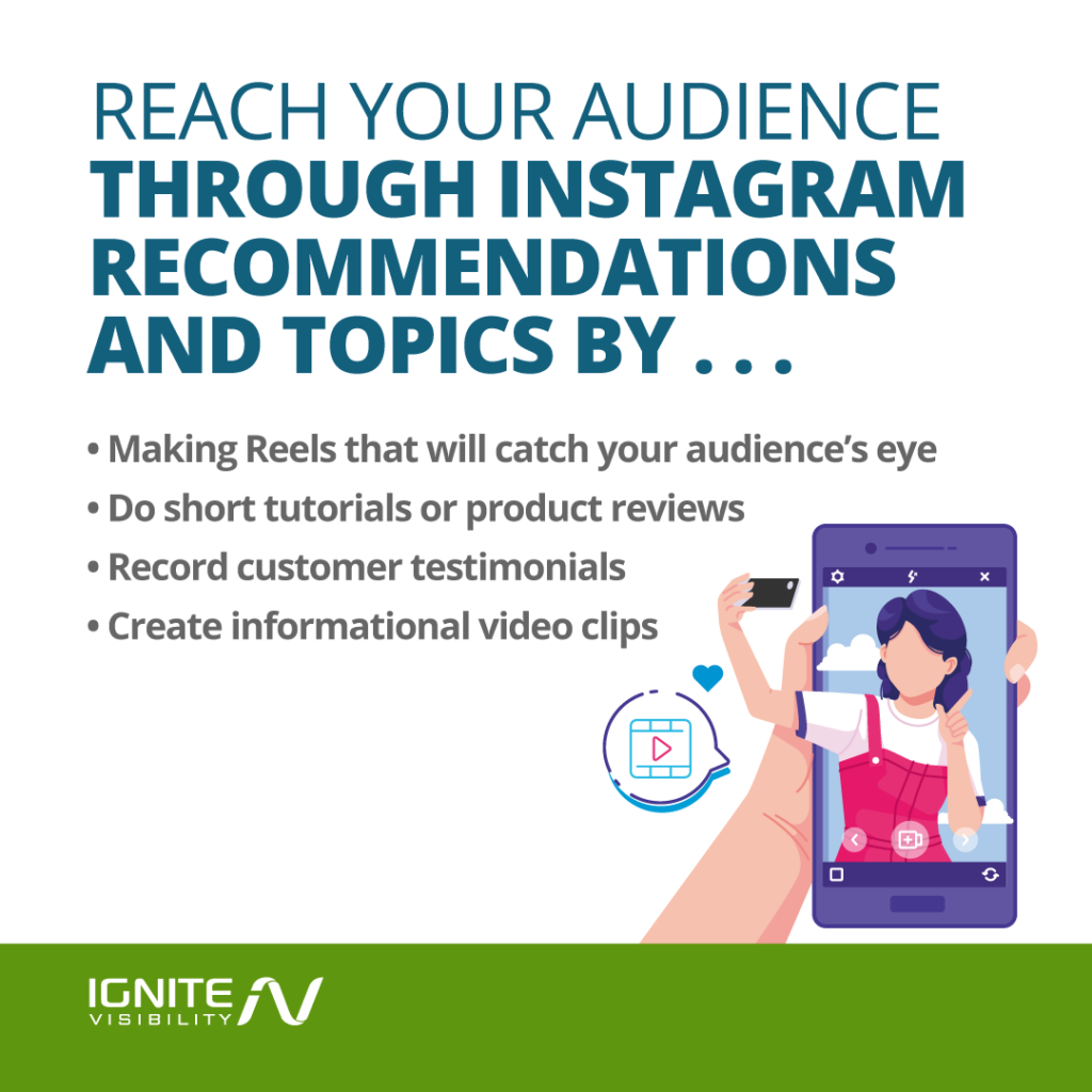 Tips for Reaching Your Audience Through Instagram Recommendations and Topics