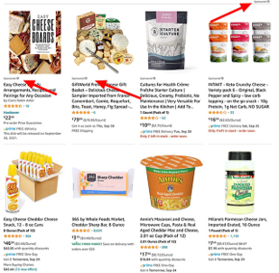 Sponsored Content in Category Pages
